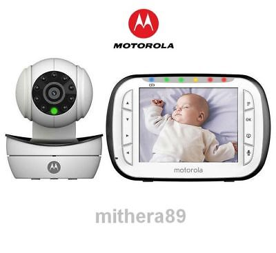 Motorola MBP43 Digital VIDEO & SOUND Baby Monitor 3.5 Inch COLOUR LCD Screen VGC