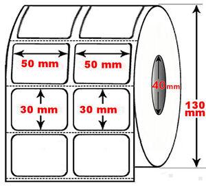 Rotolo-da-5000-etichette-adesive-mm-50x30-Termiche-2-piste-anima-40