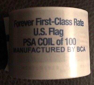 $49 FV-US FLAG-Forever Stamp Roll-100 stamps