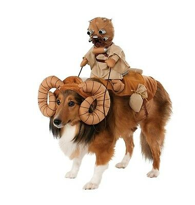 Disney Star Wars BANTHA with Tusken Raider dog rider costume Halloween