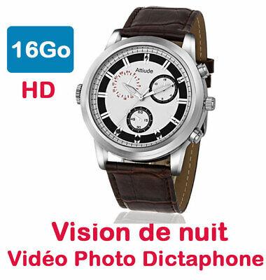 Reloj Mini Cámara Espía 16 Go Vision Nocturne Automático