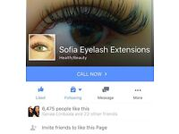 Mobile Semi Permanent Eyelash Extensions