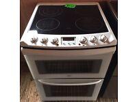 Refurbished zanussi zce7680w electric cooker-3 months guarantee!