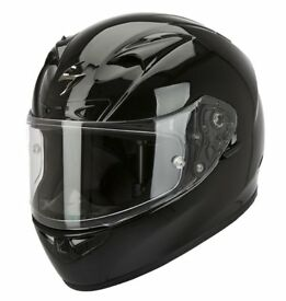 Scorpion EXO-710 Gloss Black Helmet with Air Fit System - £159.99