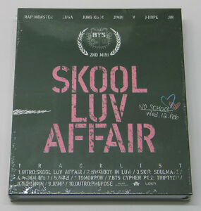BTS-Skool-Luv-Affair-2nd-Mini-Album-CD-Booklet-Photocard-K-POP-KPOP