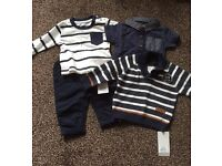 Baby boys clothes brand new