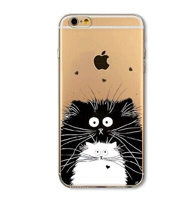 Case Cover Coque IPHONE 6 6S APPLE TPU ultra thin 3mm Chat Cat