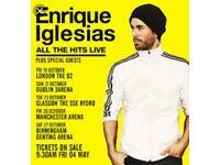 Enrique Iglesias Tickets Manchester Arena
