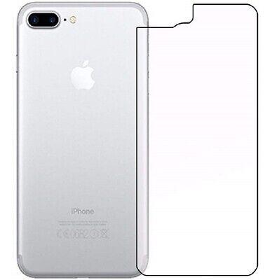 Protector para iPhone 7 Plus Vidrio Templado Trasero cristal Antigolpes