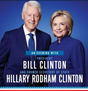 An Evening With The Clintons - BELOW COST