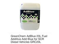 AdBlue 20L Fuel Additive Add Blu for SCR Diesel Vehicles X4