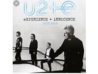 Two tickets for U2 London