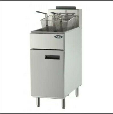 Atosa Atfs-40 40lb Commercial Stainless Steel Heavy Duty Gas Deep Fryer