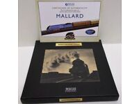 Atlas Editions - Great Trains Of The World - Mallard 1:220 scale Sealed