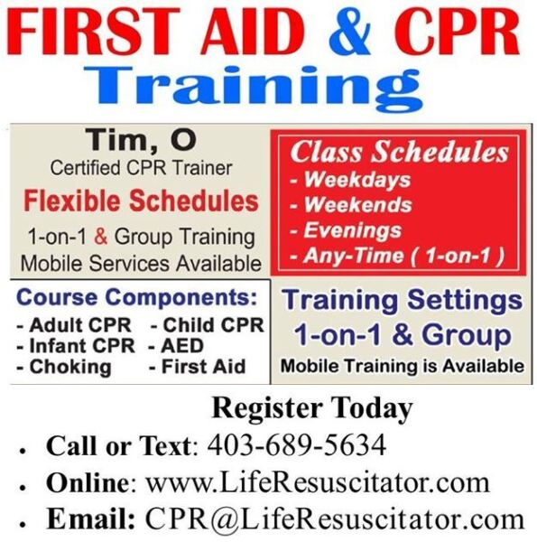 Standard – CPR / AED / First-Aid Certification Course