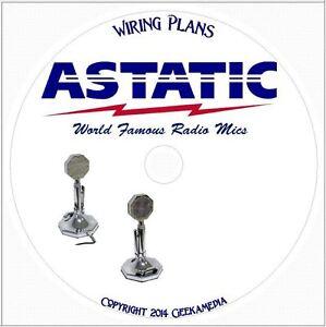 astatic microphone wiring guide dvd cb ham crystal. Black Bedroom Furniture Sets. Home Design Ideas