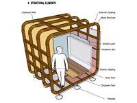 External room, log cabin, spare storage, art studio, chalet, man cave, beach huts