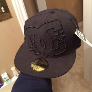 NEW DC All Blck Hat - ask $20 - 7 1/4 size - org price $40