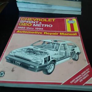 Haynes 24075 (1727) Auto Repair Manual
