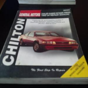 Chilton 28320 Auto Repair Manual