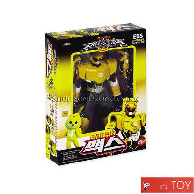 MINIFORCE MAX Yellow Action Figure Set Mini Force Super Ranger SONOKONG