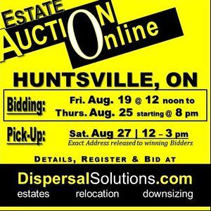 Huntsville Estate Auction | August 19 -25