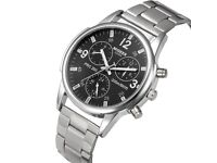 Migeer silver watch
