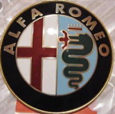 ALFA ROMEO MILANO/GTV6/164/SPIDER 75mm EMBLEM