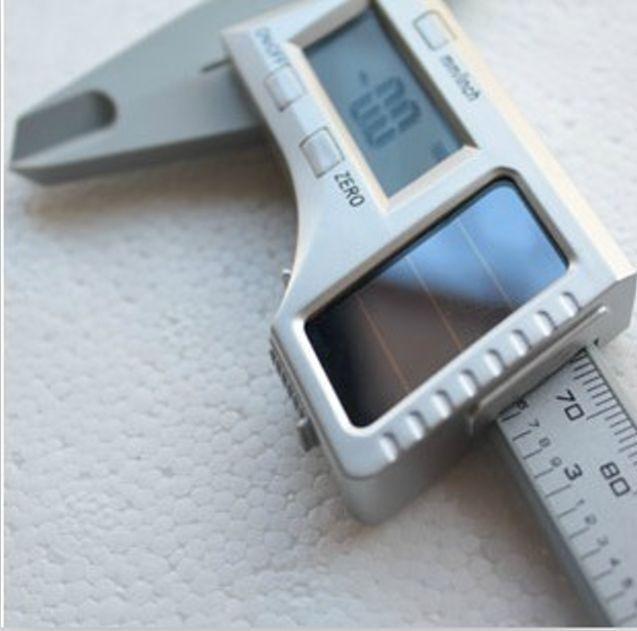 "6"" INCH  ELECTRONIC LCD DIGITAL  SOLAR POWERED VERNIER CALIPER MICROMETER"