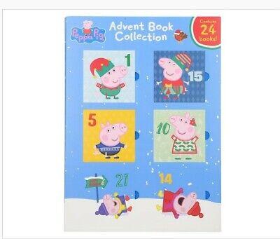 Peppa pig 24 advent books calendar fun reading christmas