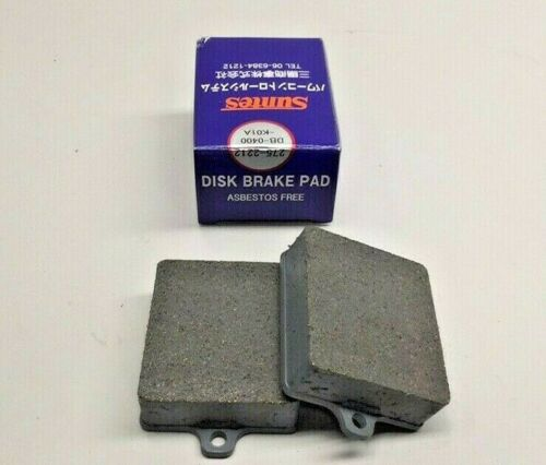 Suntes DB-0400-K01A Disc Brake Pad Set Tokai M9207 MK21 8829L DB0400K01A