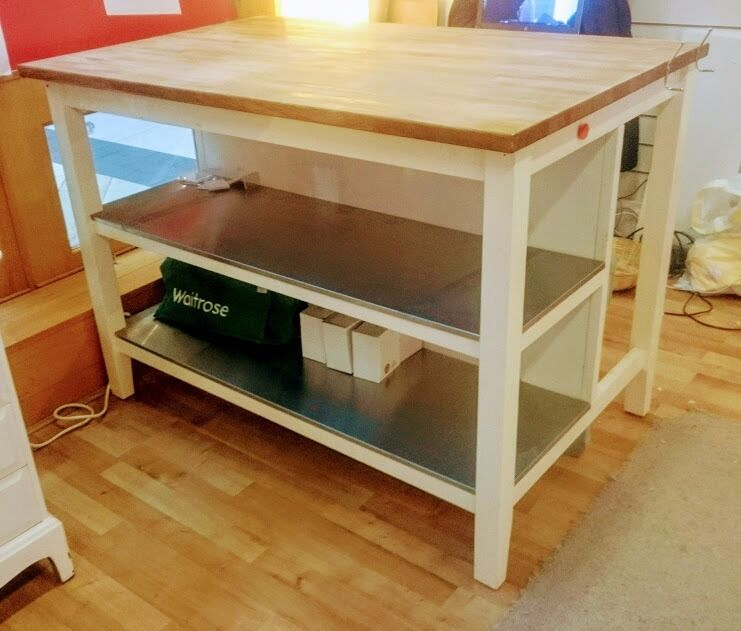 Kitchen Shelf Gumtree: Ikea STENSTORP Kitchen Island Unit