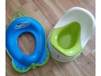 High Back Potty & Toilet Training Seat
