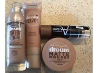 Maybelline Makeup Bundle - Good as NEW £12