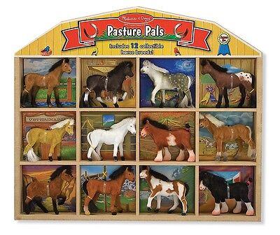 Melissa and Doug 592 Pasture Pals - 12 Horses