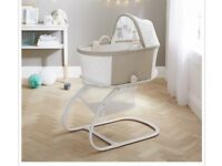 PurFlo breathable Moses basket. 6 months old