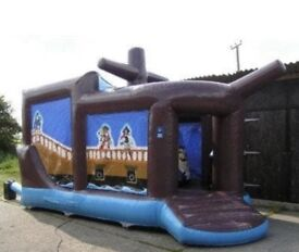 Airquee pirate ship bouncy castle