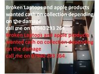 laptop\apple product wanted cash on collection ££££
