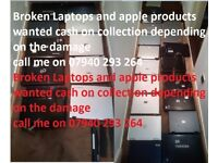broken or damaged laptop or spares – cash waiting spec im looking for is - i3/i5/i7