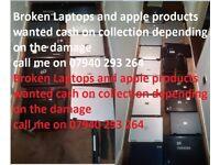 laptop wanted broken spare damaged only i3/i5/i7