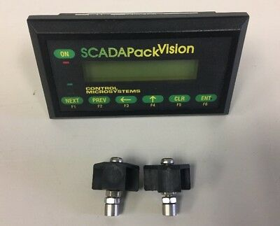 Scadapack Vision 10 Used Panel Interface Terminal Ships Free From Inside The Us
