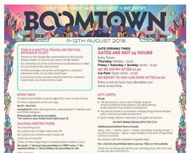 Boomtown Ticket. ADULT RESIDENCY PASS (18 )