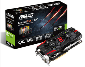 Carte graphique ASUS GeForce GTX 780 OC