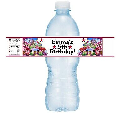 Candyland Baby Shower (12 Candyland Candy Land Birthday Party Or Baby Shower Water Bottle Sticker)