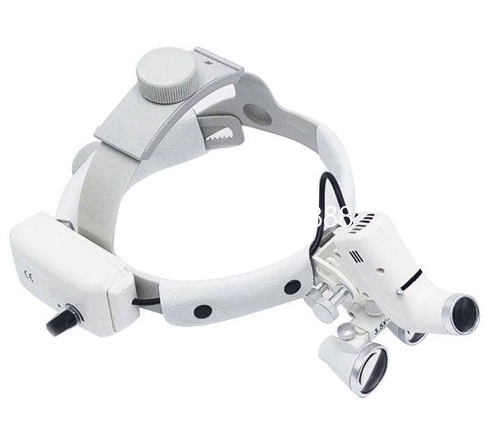 3.5X -420 Headband Binocular Dental Loupes Surgical Loupes Headlight Magnifier A