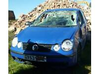 Vw polo 1.2 for parts.