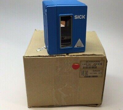 Sick 1 013 187 J926 Laser Barcode Scanner Clv250a2020 V6.90 Software