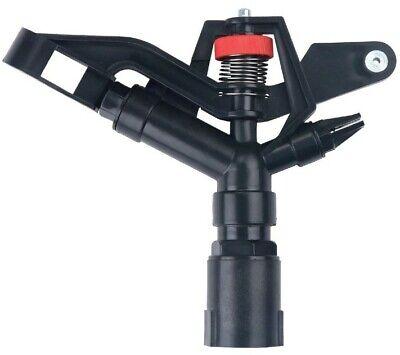Brand New 1 Abs Black Plastic Impact Sprinkler Gun