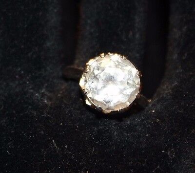 Looks Like The Real Deal   Estate Sterling Cz Ring