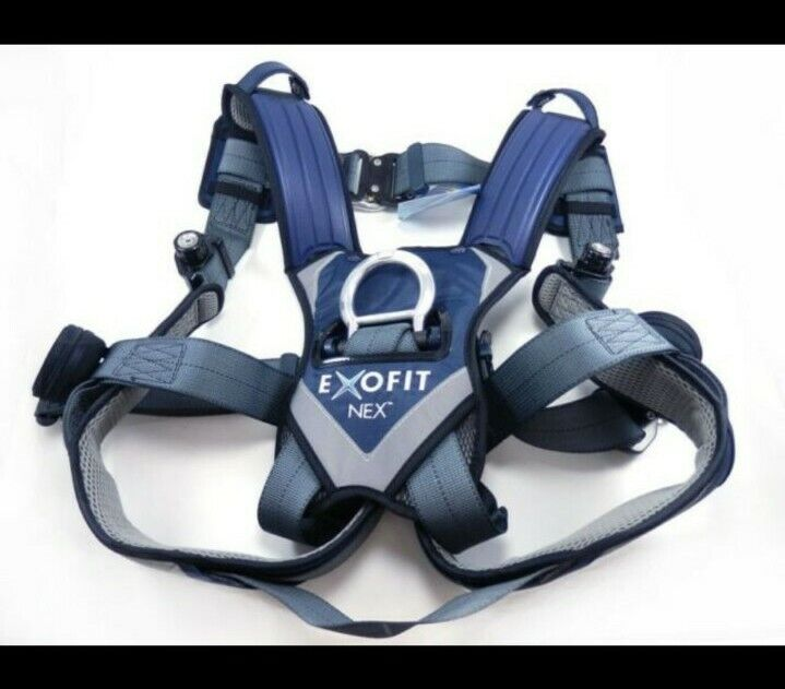 Used  DBI SALA ExoFit NEX Vest-Style Safety Fall Protection ( Read Add ) Harness